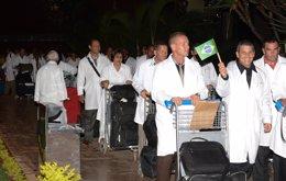 Médicos cubanos en Brasil