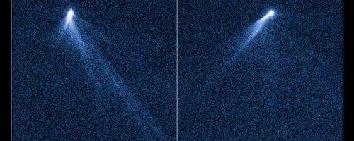 Objeto extraño hallado por Hubble en el cinturón de asteroides