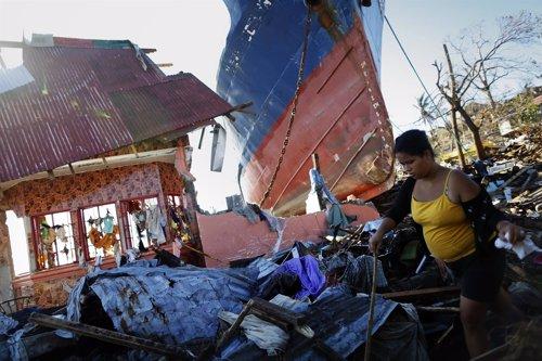 Tifón Yolanda en Filipinas