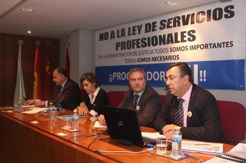 Vicepresidente del Consejo General de Procuradores Españoles, Javier C. Sánchez