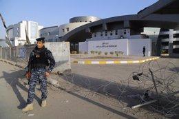 Asalto contra un edificio en Bagdad, Irak