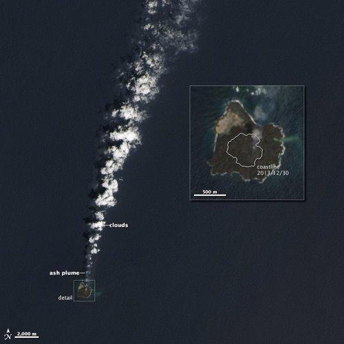 Nueva isla en el Pacífico