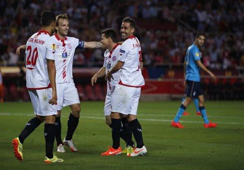 El Sevilla supera al Oporto en Europa League