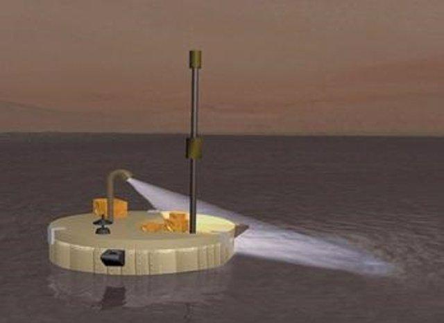 Prototito barco para misión en Titán