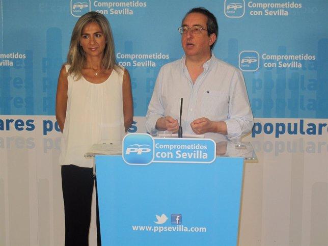 Patricia del Pozo y Rafael Salas
