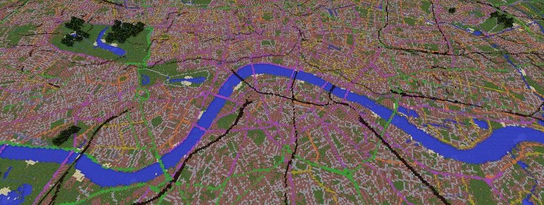 London GB Minecraft 2 Map