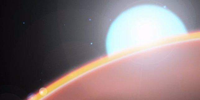 Estratosfera en exoplaneta