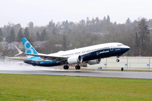 Primer vuelo del 737 MAX