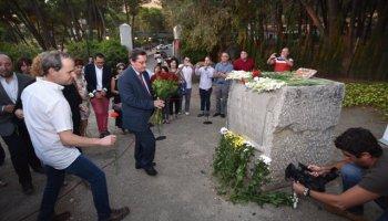Granada rememora a víctimas de la represión en el 80 aniversario del asesinato de Lorca