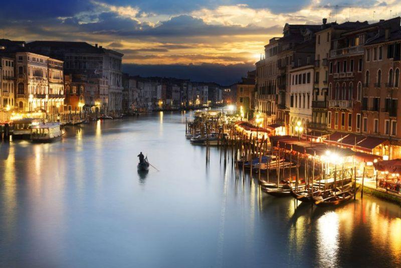 Promenade sur les canaux de Venise