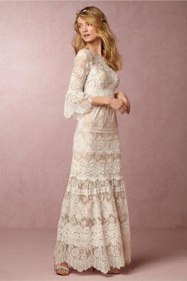 Elegant And Au Courant 20 Long Sleeve Wedding Dresses Of