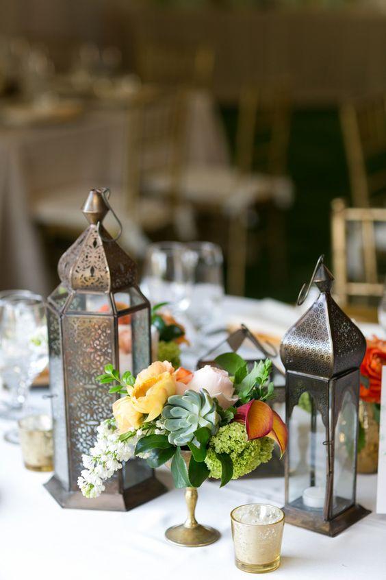 Wedding Table Centerpiece Ideas No Flowers Mia Bella Bridal Gallery