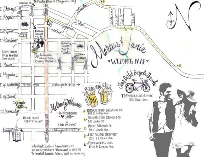 Wedding Stationery Ideas Invitation Maps