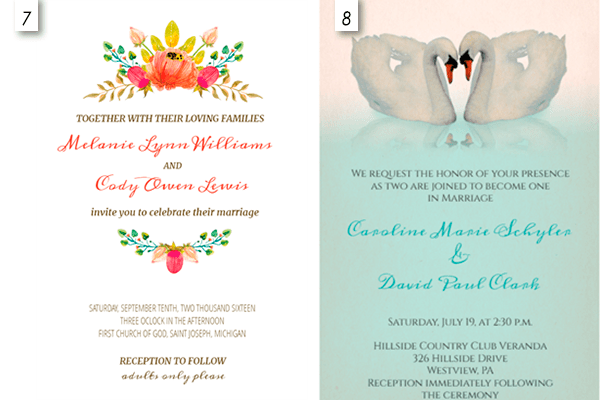 Editable Wedding Invitation Templates Wblqual