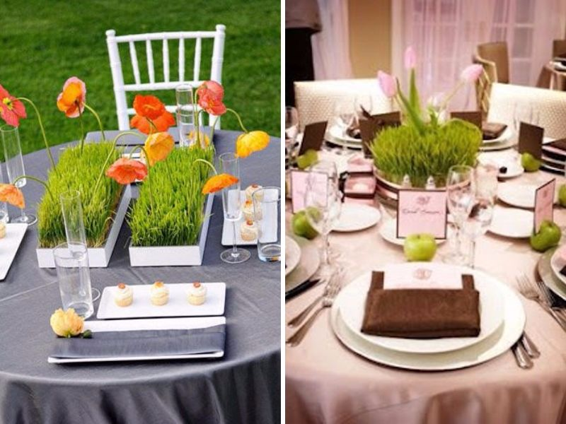 28 Round Table Centerpieces (in Different Styles