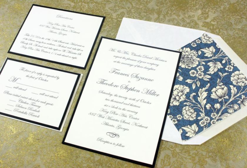 What Is The Standard Wedding Invitation Size