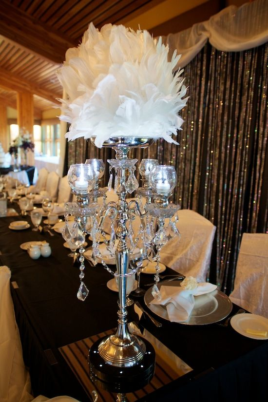Wedding table centrepiece ideas no flowers brokeasshome