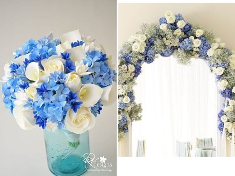 Champagne And Light Blue And Other Great Color Combos For