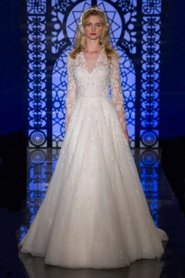 The Best Wedding Dresses for Brides with Fat Arms   EverAfterGuide Long Sleeved or three quarter length sleeve wedding dresses