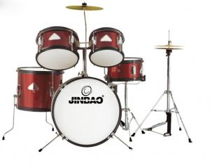 Jinbao musical instrument Red color 5 pc Junior Drum set for sale     Jinbao musical instrument Red color 5 pc Junior Drum set