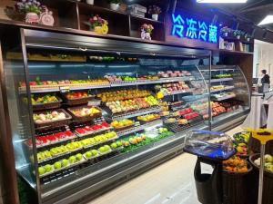 supermarket open vertical air curtain