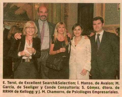 Elena Terol en los Premios Expansión & Empleo