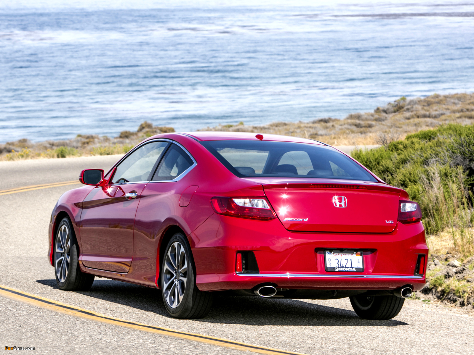 2012 Honda Accord Coupe Red