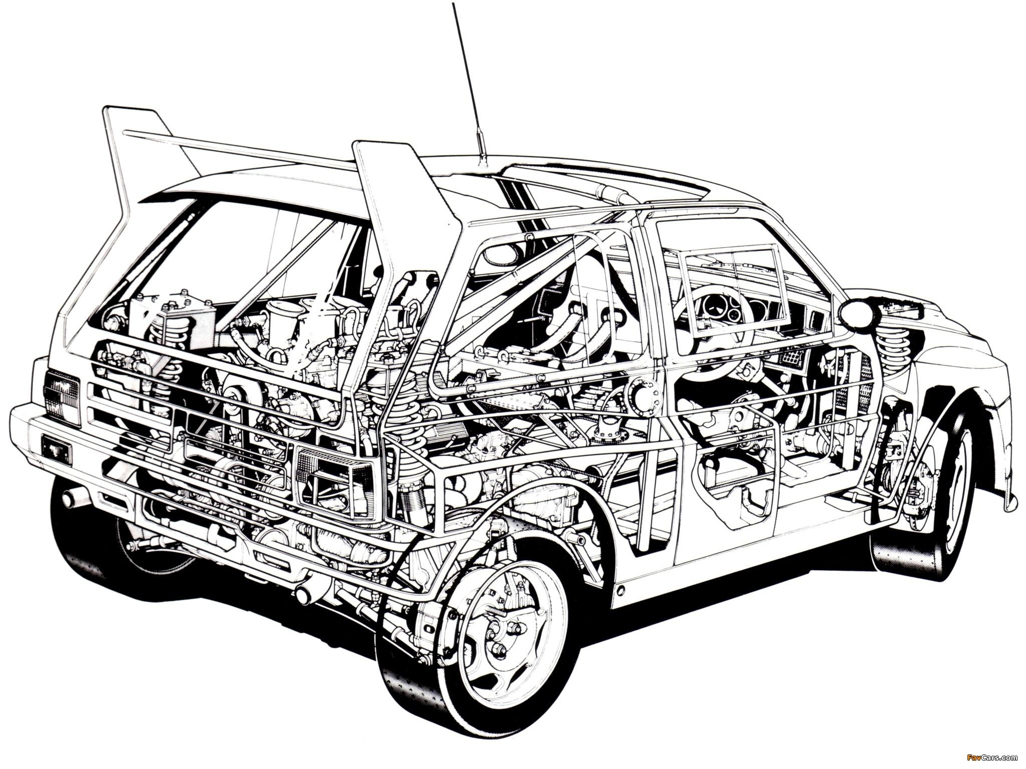 A Rally Car