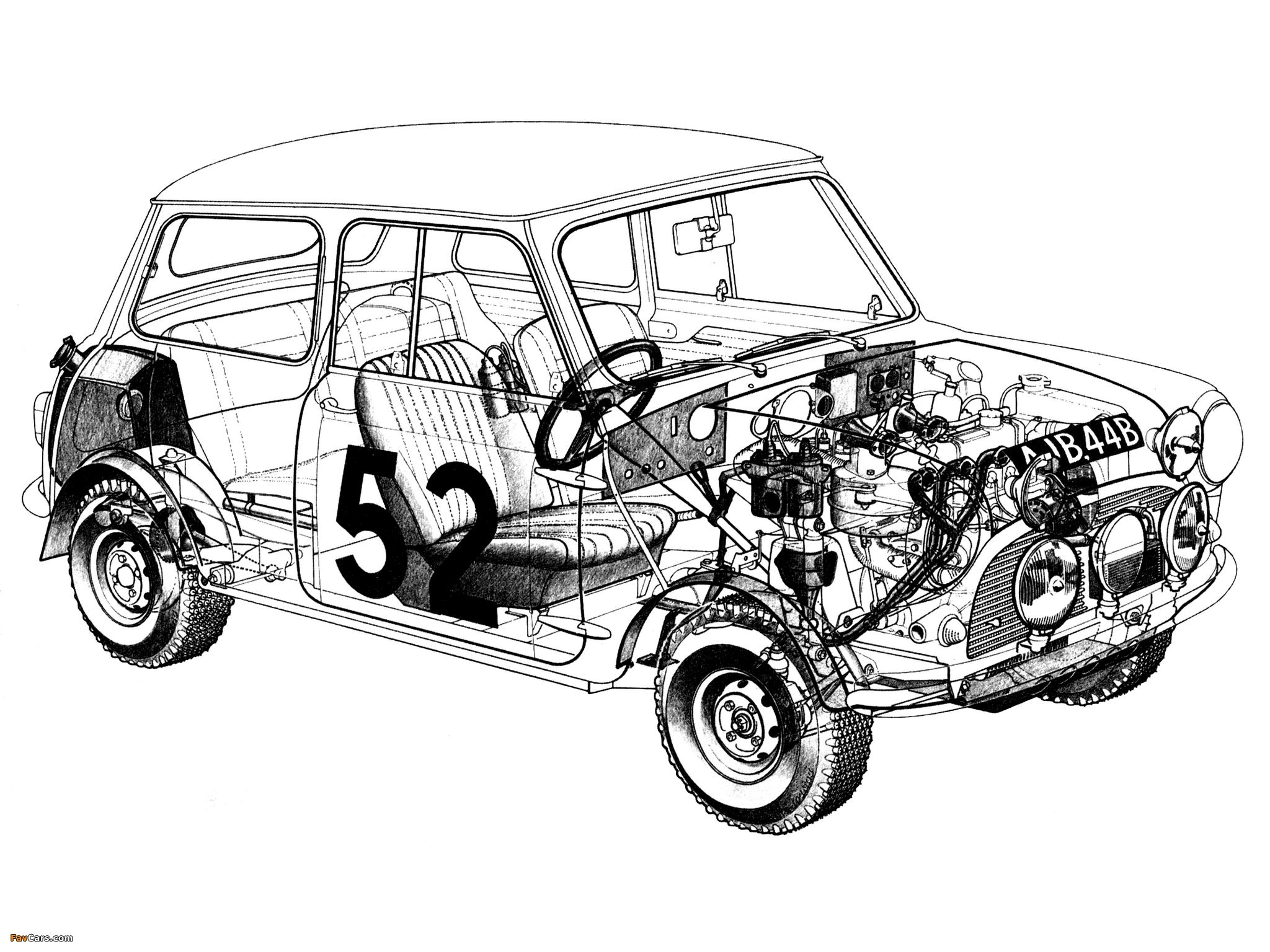 Images Of Morris Mini Cooper S Rally Ado15 68