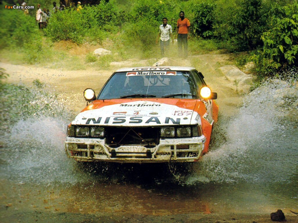 Group b wallpapers / page 2. Nissan 240rs Group B Rally Car Wallpapers 1024x768