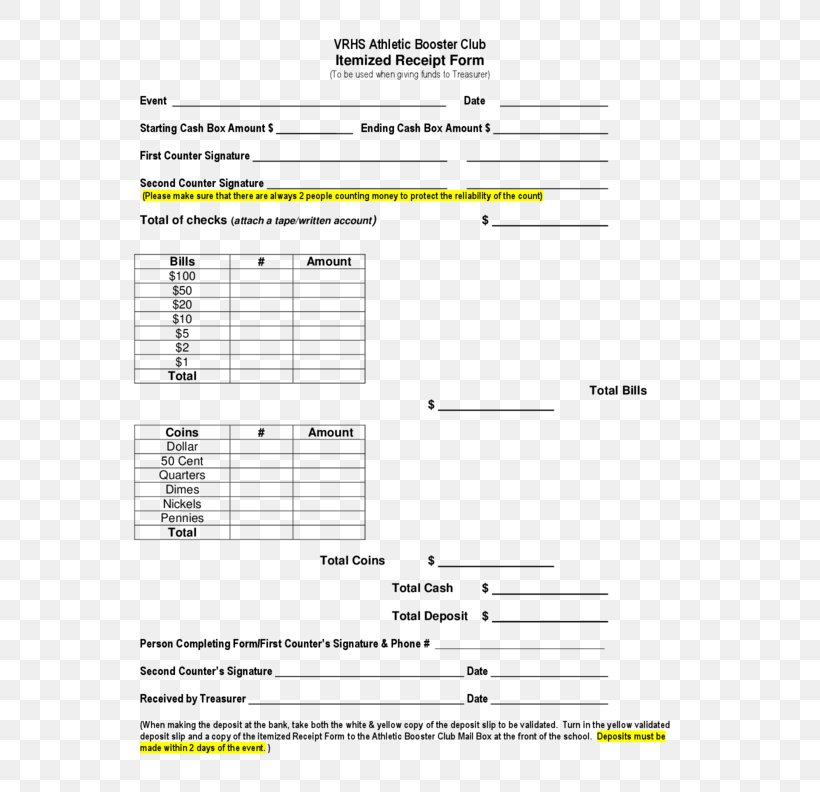 Use the excel sheet to create the deposit receipt template free download which includes the branch name, code, transaction id, amount deposited and the signature of the depositor and the organization where it is … Document Receipt Template Invoice Form Png 612x792px Watercolor Cartoon Flower Frame Heart Download Free