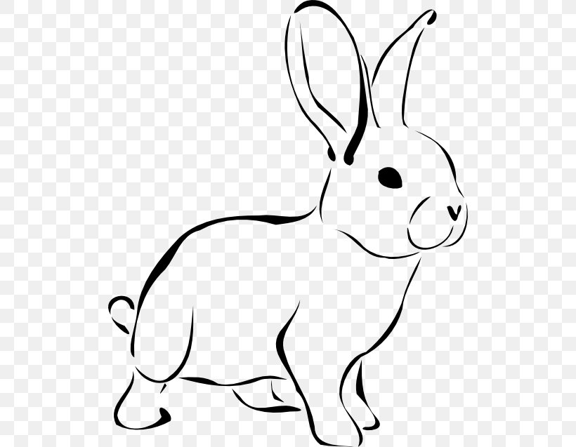 Easter Bunny White Rabbit Clip Art Png 512x637px Easter Bunny Area Black And White Blog Clip