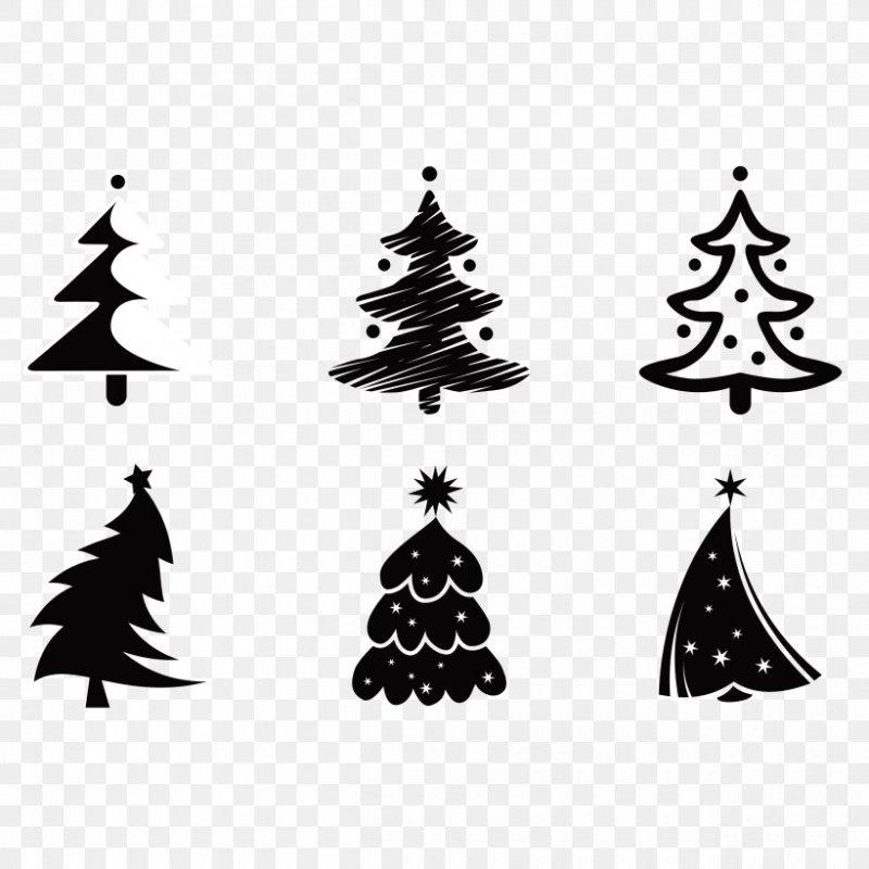Vector Graphics Christmas Tree