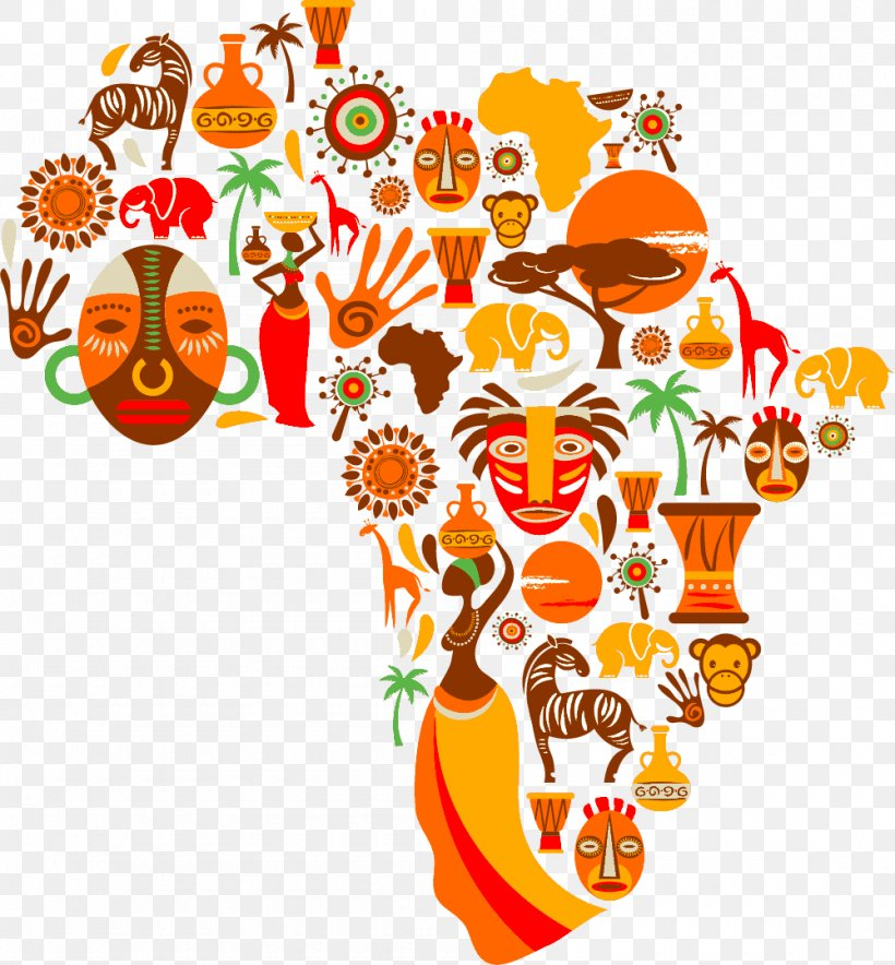 Africa Map Clip Art Png 1000x1079px Africa Area Artwork Cut Flowers Floral Design Download Free