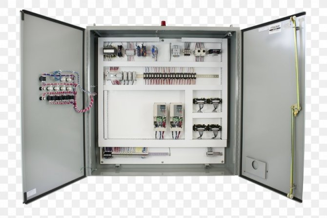 control panel electricity wiring diagram system solar panels