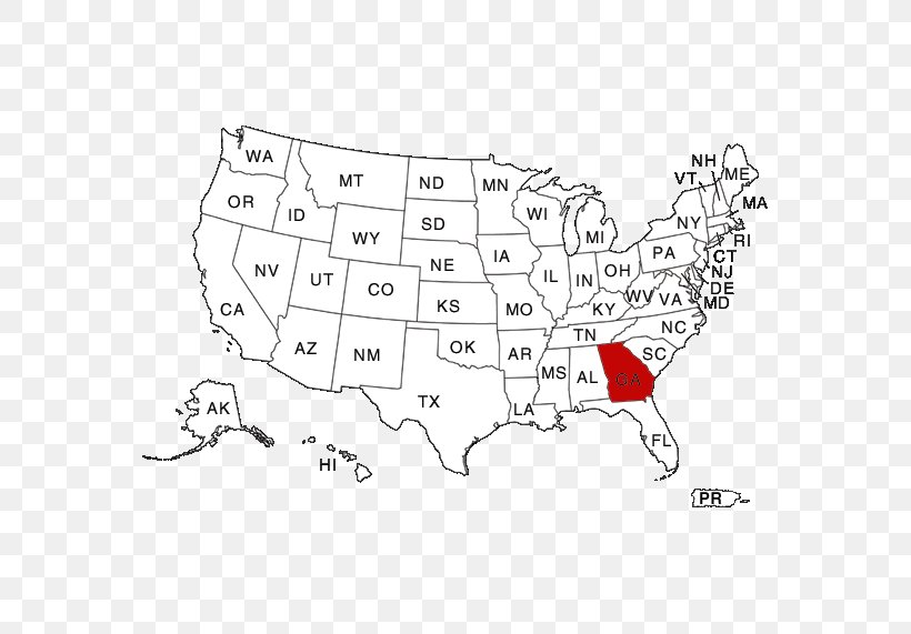 The map legend often also has a scale to help the map reader gauge dista. Page Blank Map U S State World Map Png 571x571px Page Abbreviation Area Black And White Blank