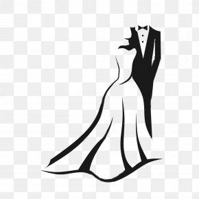 wedding invitation black and white
