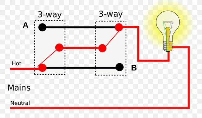 multiway switching wiring diagram electrical switches light