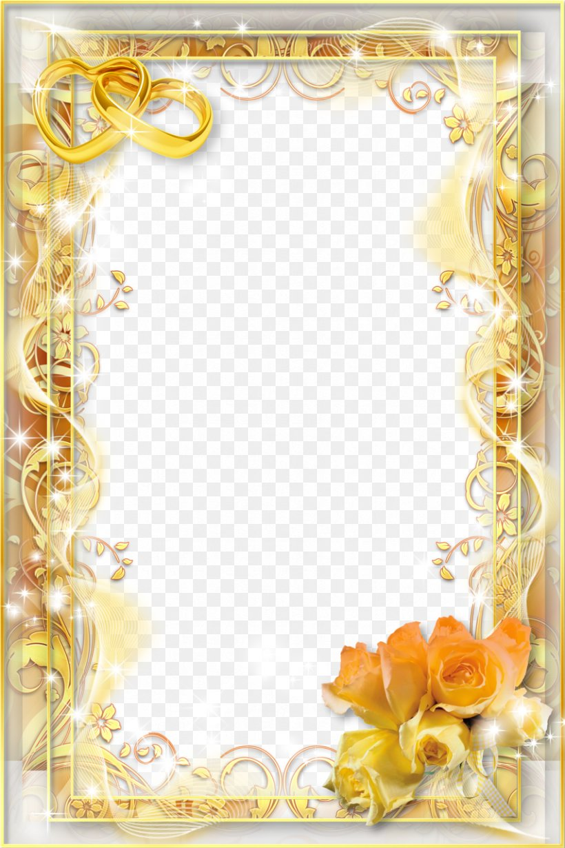 wedding invitation picture frame png