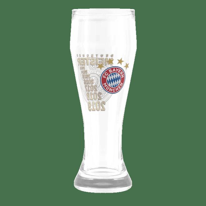 Weibier Glass Deutscher Meister 2019 Official FC Bayern