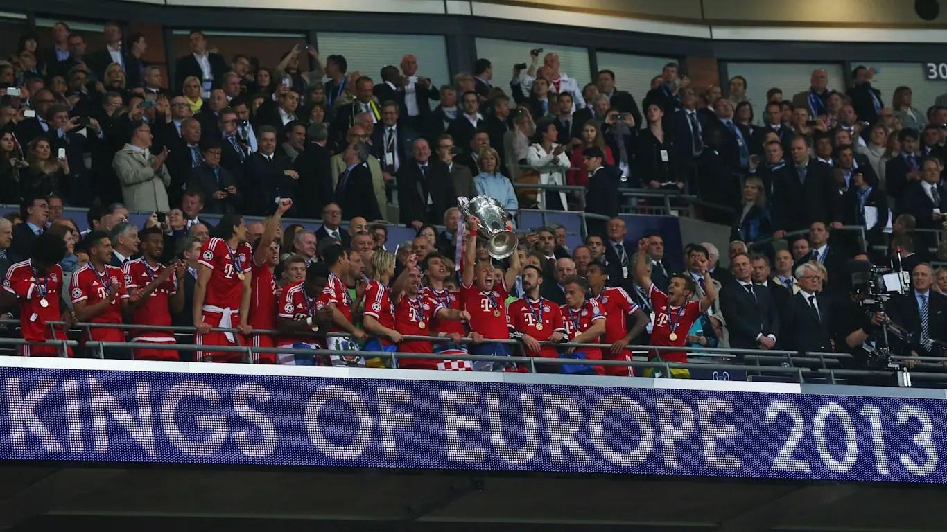 Champions contra  Dortmund. (FOTO: Bayern Munich)
