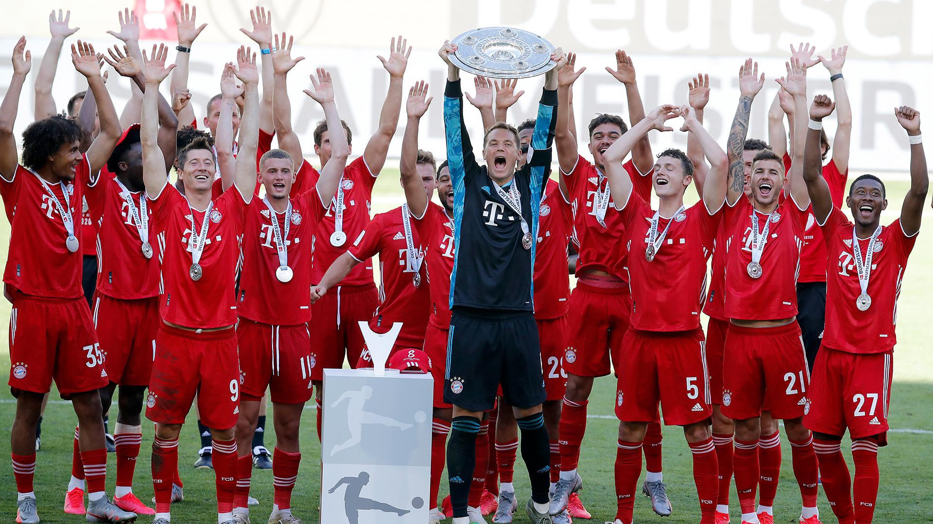 German Champions 2020 - FC Bayern Munich