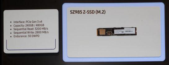 Samsung กำลังเตรียม Z-SSD