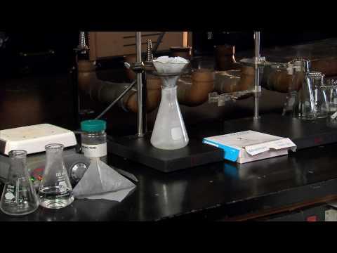 Purificação de uma substância por Recristalização