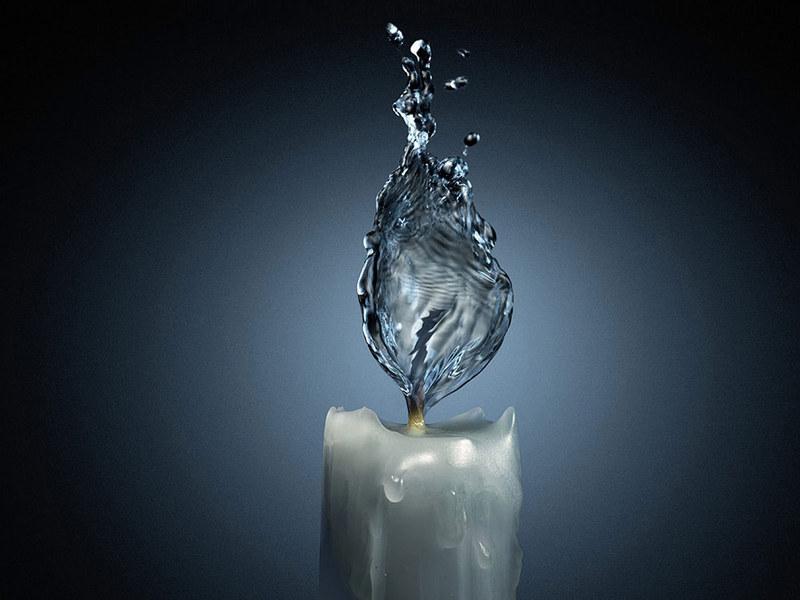Sabias que a água quente congela mais depressa que a água