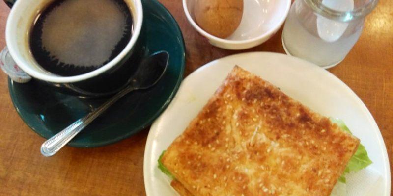 台中早午餐 磨石坊~早上七點起的銅板價超值早餐 百元有找 近台中教育大學的社區型餐廳