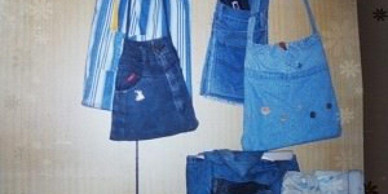 【DIY】牛仔褲‖舊照中的DIY舊作