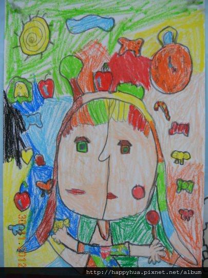 [小一]小小畢卡索~鄭寶貝的畫