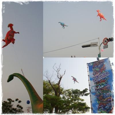 2010台中兒童藝術節「紙風車恐龍藝術探索館」