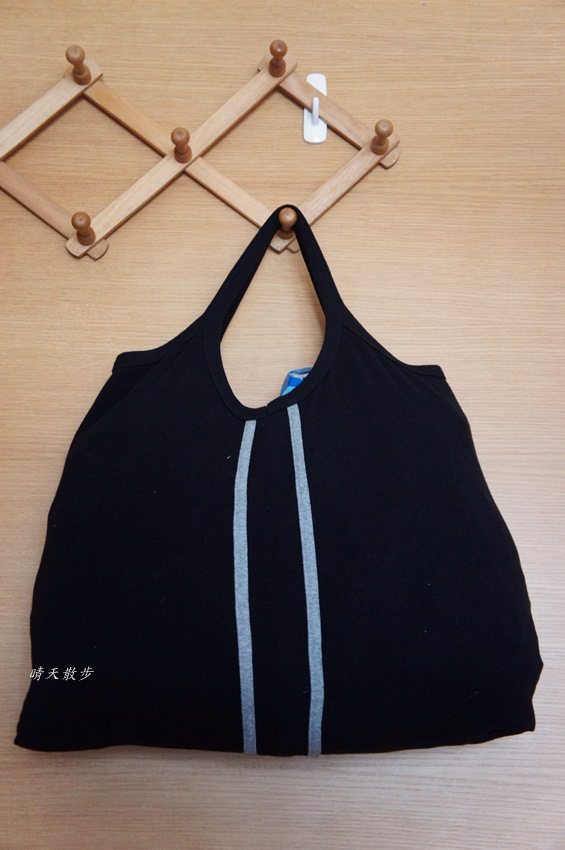 舊衣改造|背心購物袋 作法無敵簡單